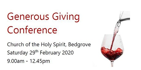 Generous Giving Conference tickets