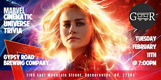 Marvel Cinematic Universe Trivia at Gypsy Road Brewing Company