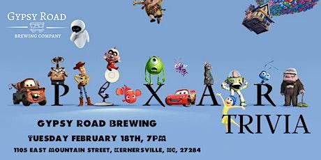 Disney Pixar Movie Trivia at Gypsy Road Brewing Company tickets