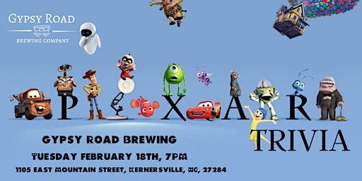 Disney Pixar Movie Trivia at Gypsy Road Brewing Company