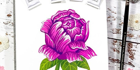 NYC Botanical Illustration in Gouache tickets