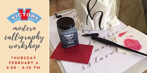 Modern Calligraphy - Valentine's Workshop