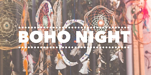 Boho Night * Make your own dream catcher and dream catcher spray.