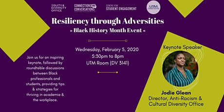 Resiliency through Adversities - A Black History Month Event tickets