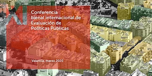 XI Conferencia bienal internacional de Evaluación de Políticas Públicas