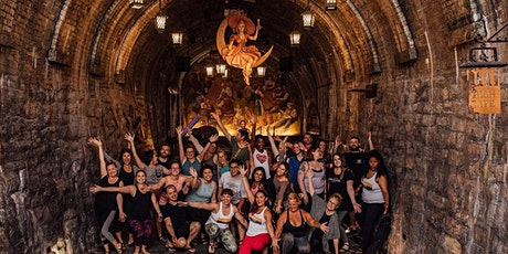 Yoga, Live Music and Dinner in the Historic Miller Caves tickets