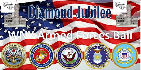 60th Western New York Armed Forces Week Military Ball tickets