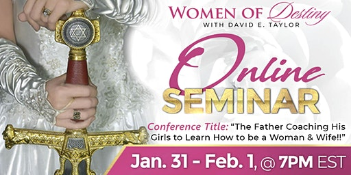 Women's Conference with David E. Taylor