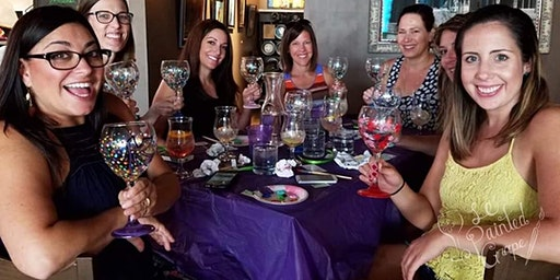 Wine Glass Painting Class at Below the Radar Brewhouse 1/20 @ 7pm
