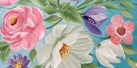 NYC Floral Painting in Acrylics for Beginners tickets