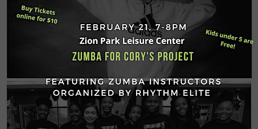 Zumba for Cory's Project
