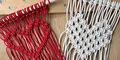 Macrame Heart  Wall Hanging Workshop
