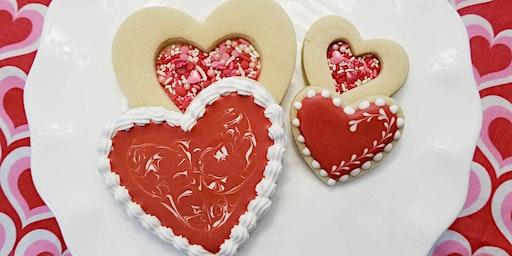 Valentine Shaker Cookie Class
