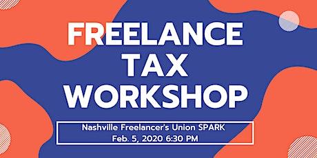 Nashville Freelancers Union SPARK: Freelance Tax Workshop tickets