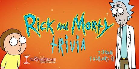 Rick & Morty Trivia - Feb 11, 7:30pm - YYC CBH Mahogany tickets