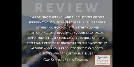 Gap Selling Sales Training - It's Time to Change the Way We Sell tickets