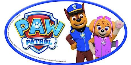 Pyjama party with Paw Patrol tickets