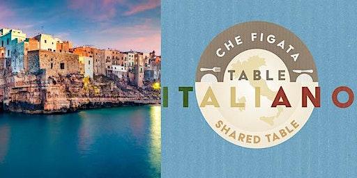 Che Figata's Table Italiano Visits Puglia