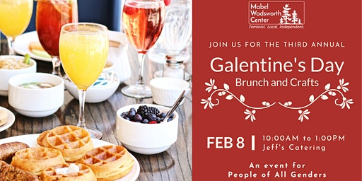 Galentine's Day Brunch and Crafting