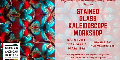 Stained Glass Kaleidoscope Workshop tickets