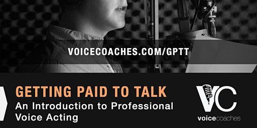 New Haven- Getting Paid to Talk, An Intro to Professional Voice Overs