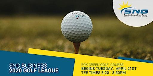 SNG 2020 Golf League