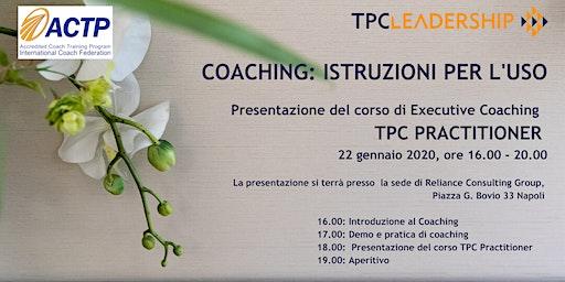 Coaching: Istruzioni per l'uso