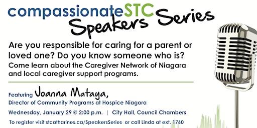 Compassionate STC Speakers Series