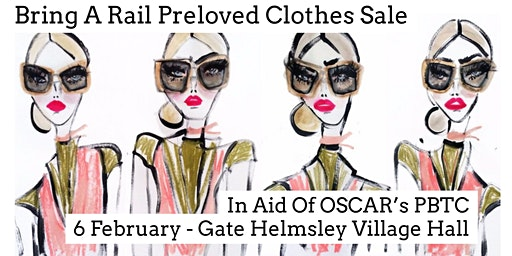 Bring A Rail Preloved Clothes Sale In Aid Of OSCAR's PBTC