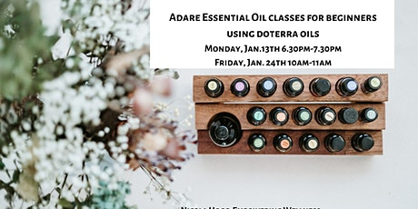 24th Jan-Essential oils for anxiety, sleep & immunity with Nicola Hogg tickets