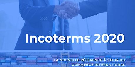 Dîner-Conférence : Les Incoterms 2020 billets