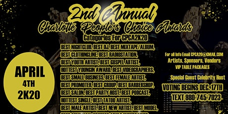 Charlotte People's Choice Awards tickets