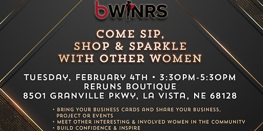 Sip, Shop & Sparkle