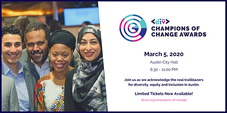 2020 Champions of Change Awards tickets