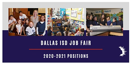 DALLAS ISD LARGE SCALE JOB FAIR MAY 16, 2020 tickets