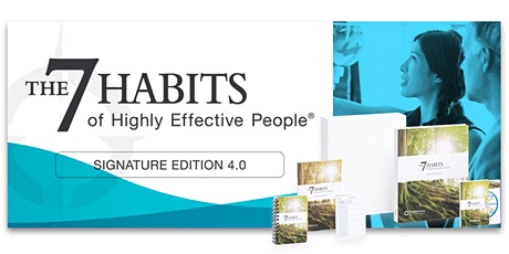 The 7 Habits of Highly Effective People®: Signature Edition 4.0 - Webcast tickets