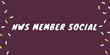 NWS Member Social tickets