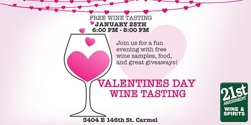 Valentines Day Wine Tasting