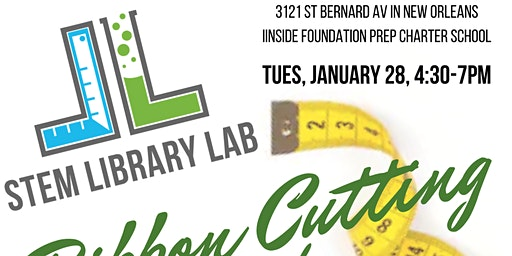 STEM Library Lab's 2020 Ribbon Cutting and Open House