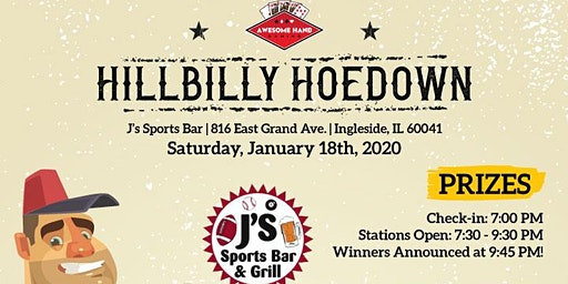 Hillbilly Hoedown & Bar Olympicss
