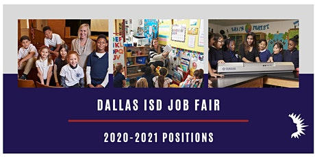 DALLAS ISD LARGE SCALE JOB FAIR  June 16, 2020 tickets