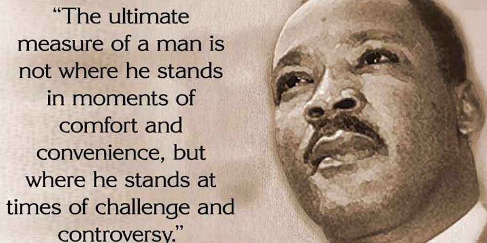 Martin Luther King Day >> Dr Martin Luther King Day Luncheon Tickets Mon Jan 20