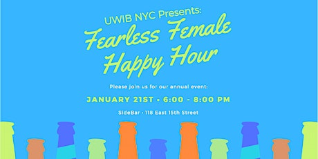 UWIB NYC: 2020 Fearless Female Happy Hour tickets