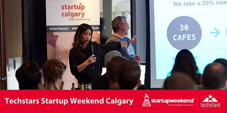 Techstars Startup Weekend Calgary  tickets