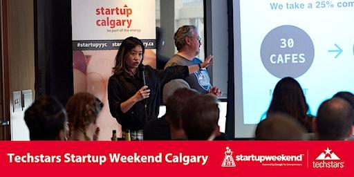 Techstars Startup Weekend Calgary