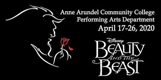 Disney's Beauty and the Beast--The Musical Fri 4/17