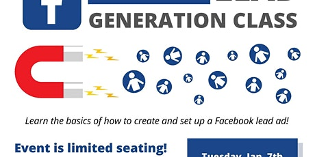 Facebook Lead Generation Class tickets