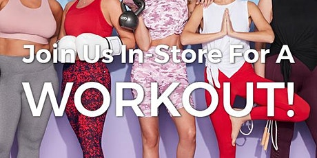 Fabletics x Total Body Ballet FREE Workout tickets
