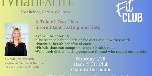 A Tale of 2 Diets: Intermittent Fasting & Keto