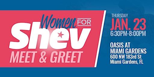 Women for Shev Meet & Greet